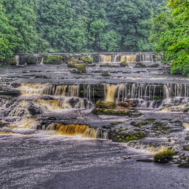 """Aysgarth, Yorkshire Dales"" stock image"