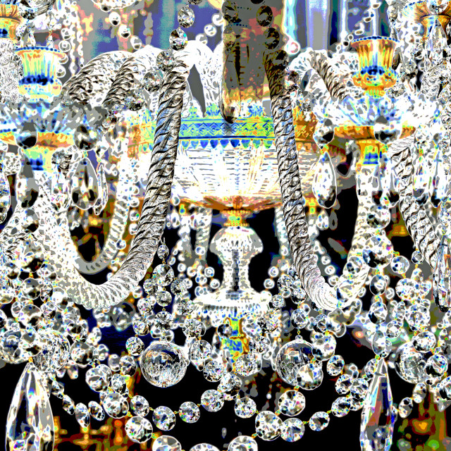 """Chandelier"" stock image"