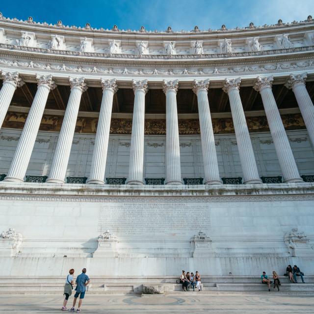 """""""Piazza Venitizia"""" stock image"""