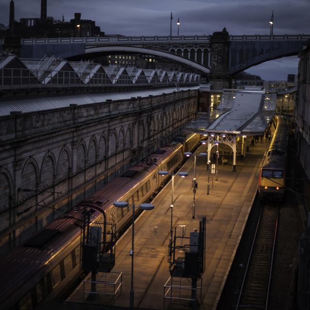 """Train Station."" stock image"