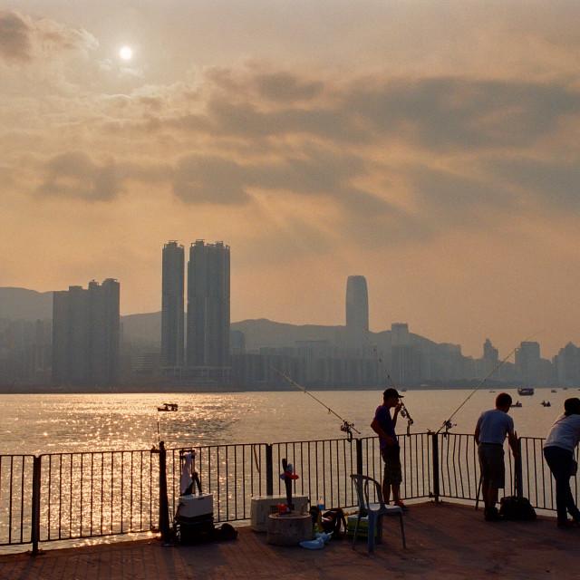 """""""Lei Yue Mun, Hong Kong"""" stock image"""