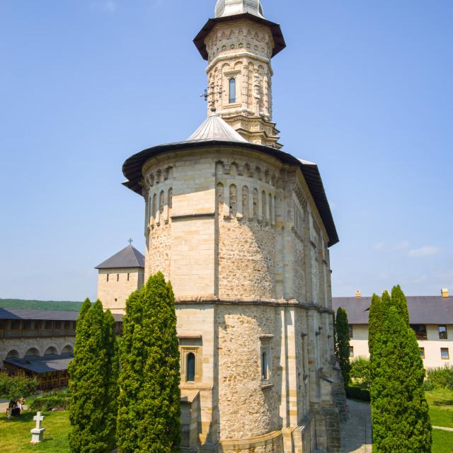"""Dragomirna church"" stock image"