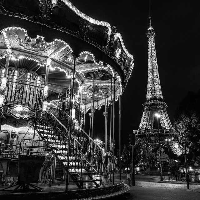 """Paris Carousel"" stock image"