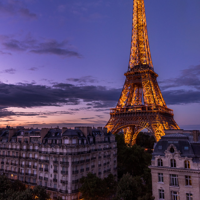 """Eiffel Tower - Paris, France"" stock image"