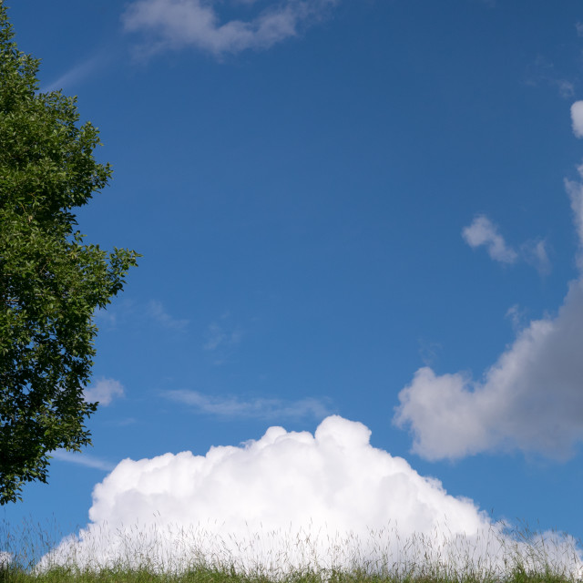 """Summer clouds"" stock image"