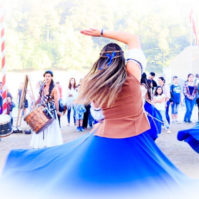 """High Key dancing"" stock image"