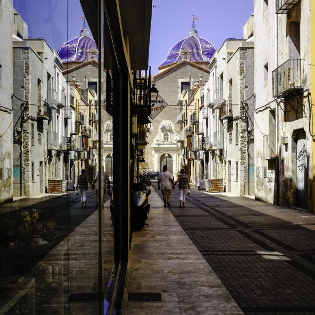 """Spanish Street"" stock image"