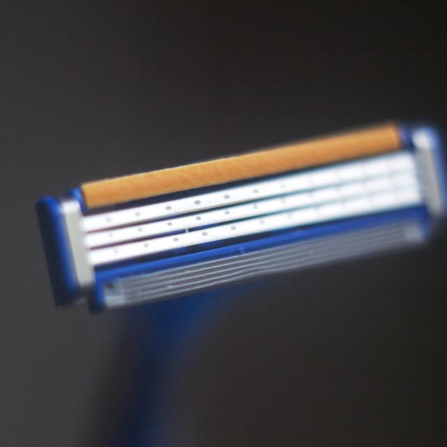 """Safety disposable razor"" stock image"