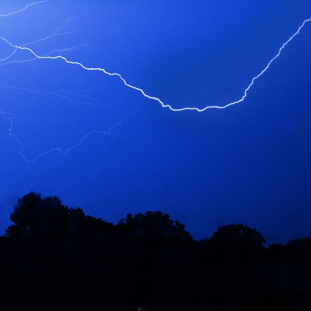 """""""Dagenham Lightning"""" stock image"""