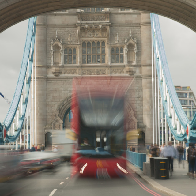 """Bus Burst"" stock image"