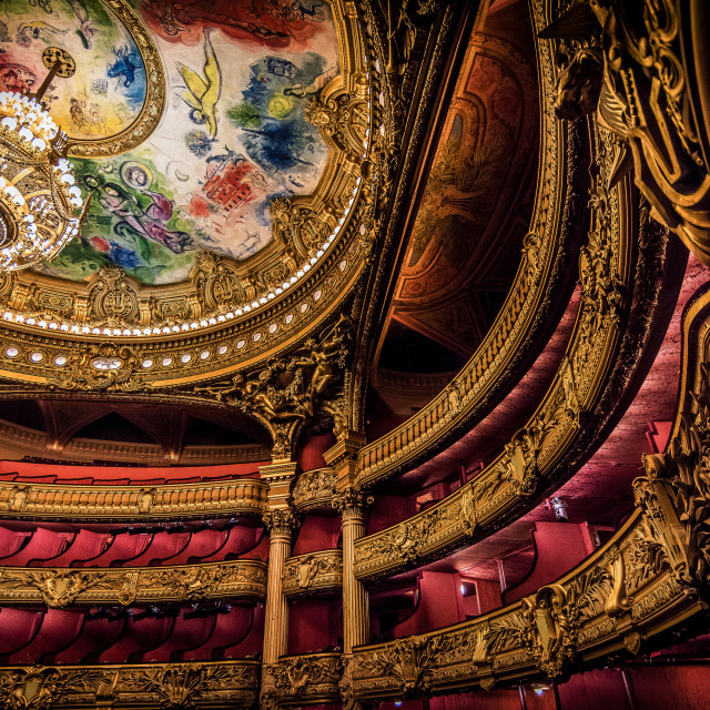 """Paris Opera House - Theater"" stock image"