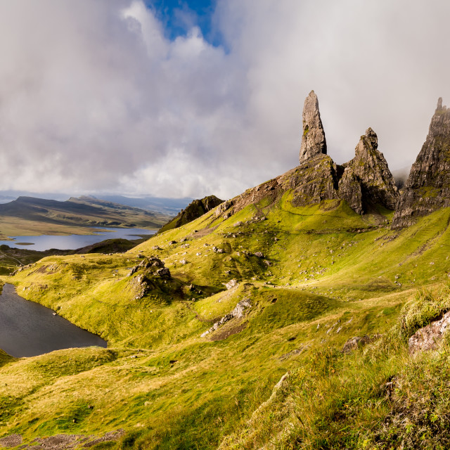 """Old Man of Storr"" stock image"