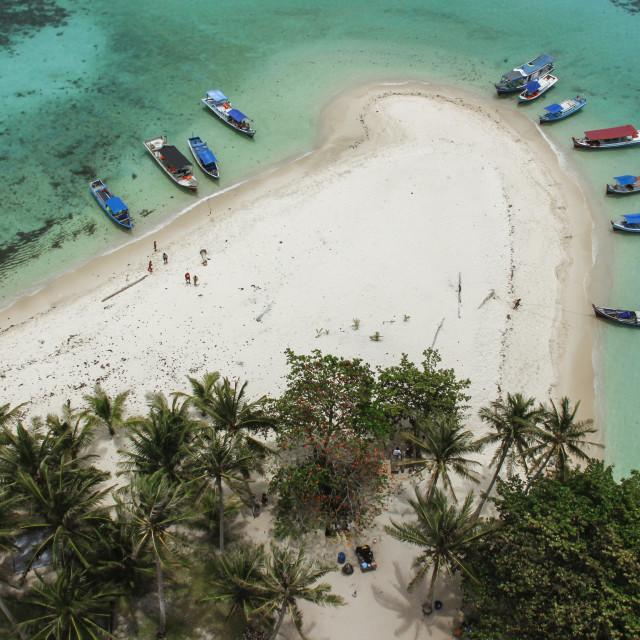 """Padar Island"" stock image"