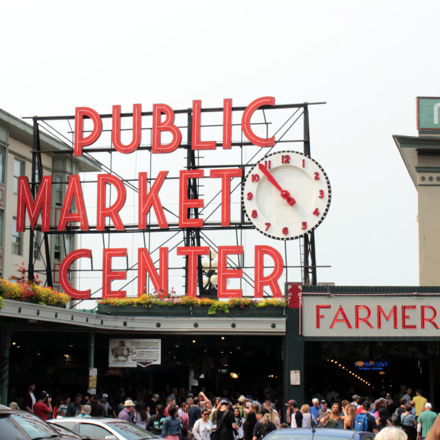 """""""Pike Place Market"""" stock image"""