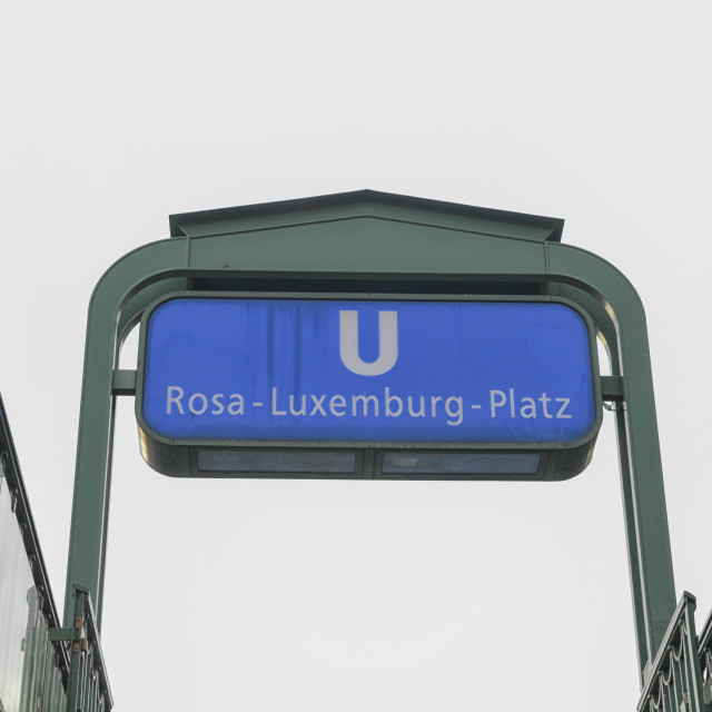 """Subway station in Berling"" stock image"