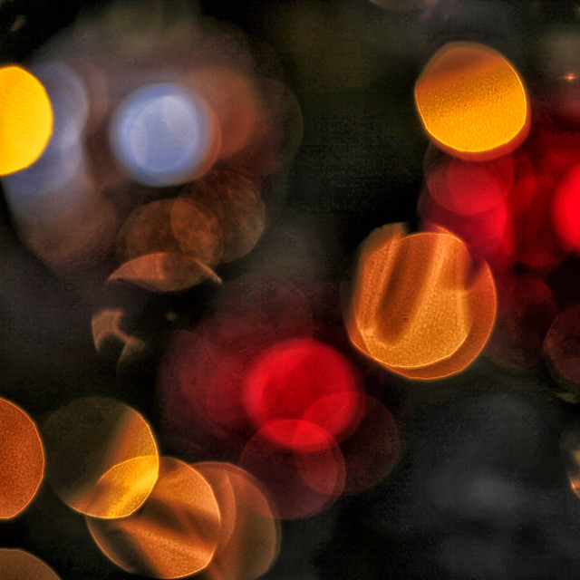 """Blurred background lights"" stock image"