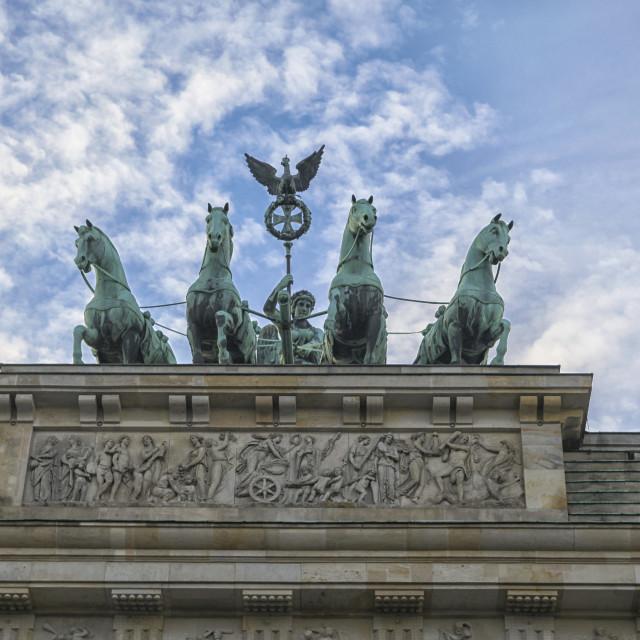 """Brandenburger gate, Berlin"" stock image"