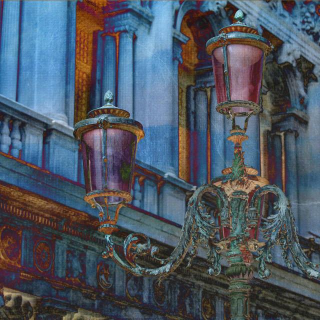 """""""Vintage lanterns"""" stock image"""