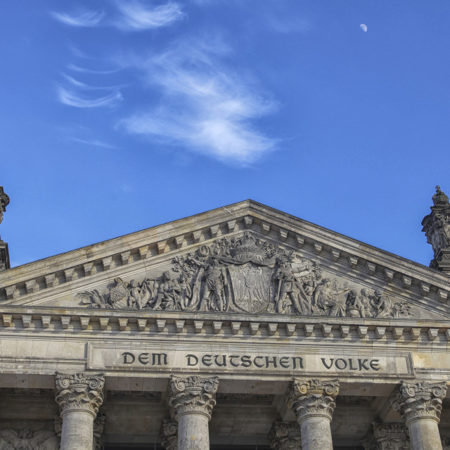 """Berlin Reichstag"" stock image"