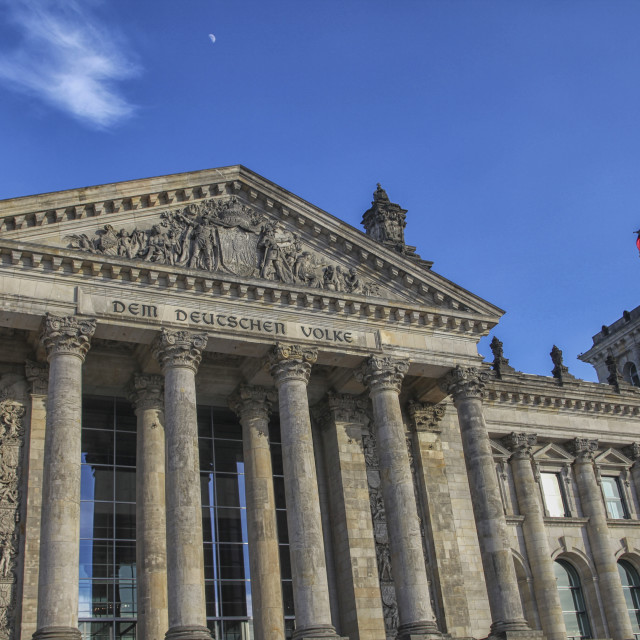 """Reichstag in Berlin"" stock image"