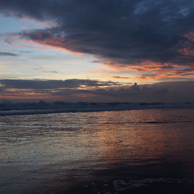 """Bali sunset"" stock image"