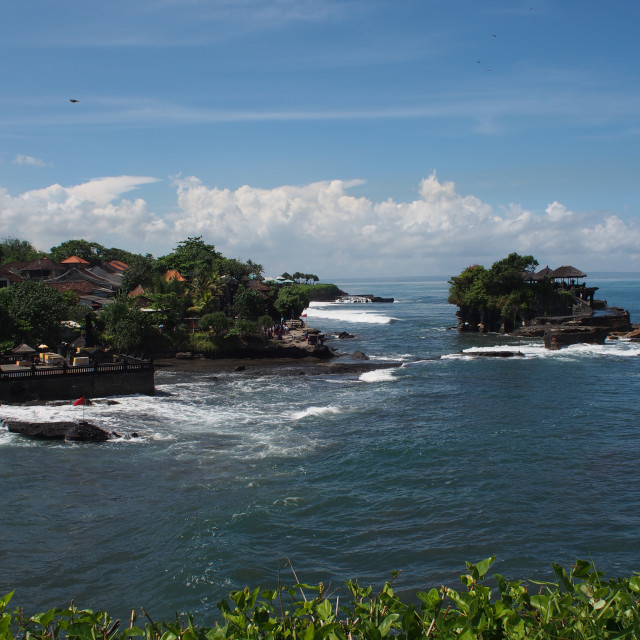 """""""Tanah Lot temple in Bali"""" stock image"""
