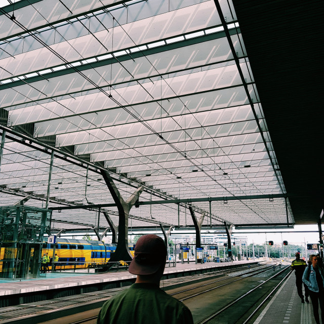 """Rotterdam Centraal Station"" stock image"