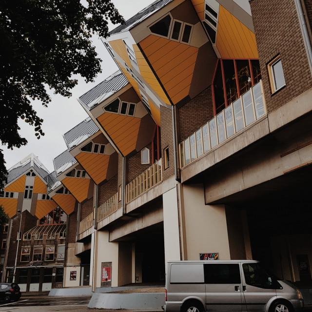 """Cube House, Rotterdam"" stock image"