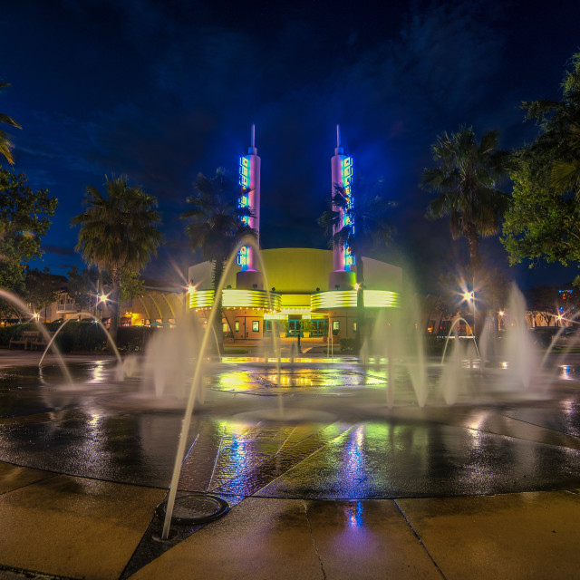 """Celebration Cinema Orlando"" stock image"