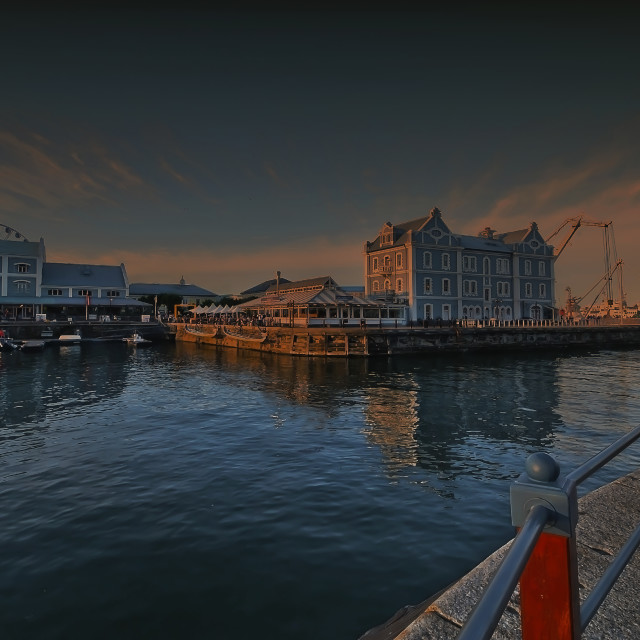 """Victoria & Alfred Waterfront"" stock image"