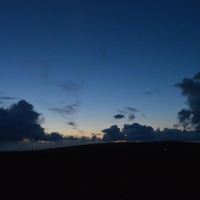 """Devon Sunset 6"" stock image"