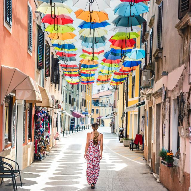 """Novigrad town in Istria, Croatia"" stock image"