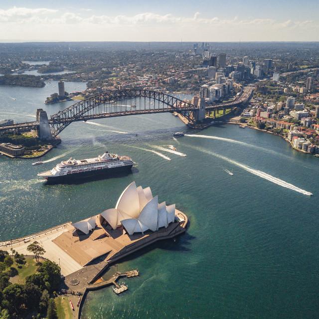 """Sydney, Australia | Aerial"" stock image"