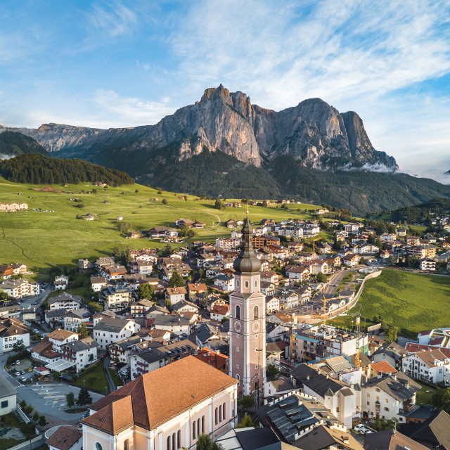 """Kastelruth (Castelrotto) in South Tyrol, Italy 