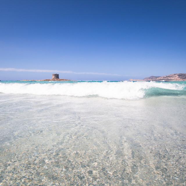 """La Pelosa, Sardinia Italy"" stock image"