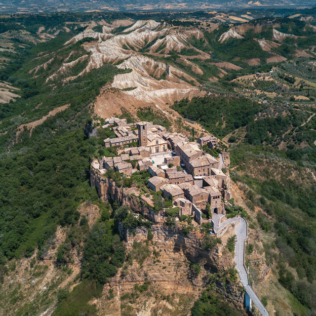"""Civita di Bagnoregio in central Italy 