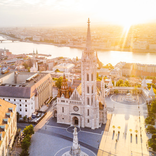 """Matthias Church in Budapest, Hungary 