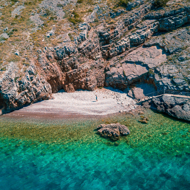 """Private beach in Croatia 