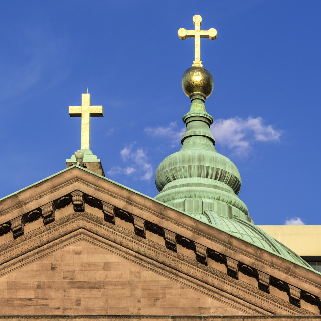 """Cathedral Basilica of SS. Peter and Paul, Philadelphia, Pennsylvania, USA."" stock image"