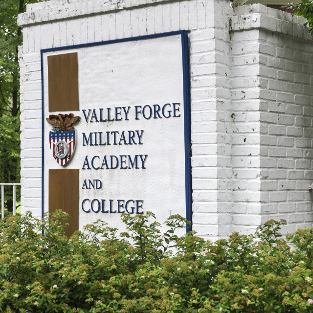 """Valley Forge Military Academy and College, Wayne, Pennsylvania, USA."" stock image"