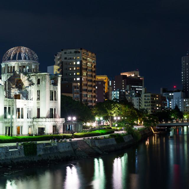 """A bomb Dome, Hiroshima"" stock image"