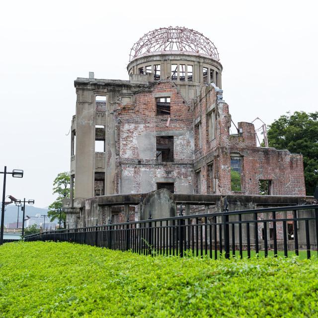 """Bomb Dome in Hiroshima"" stock image"