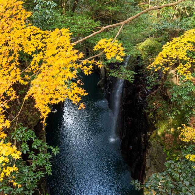 """""""Takachiho gorge at Miyazaki"""" stock image"""