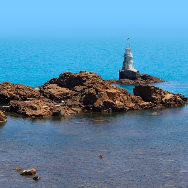 """Ahtopol lighthouse"" stock image"