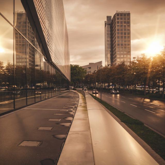 """""""Cityscape Dortmund"""" stock image"""