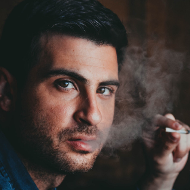 """Smoking"" stock image"