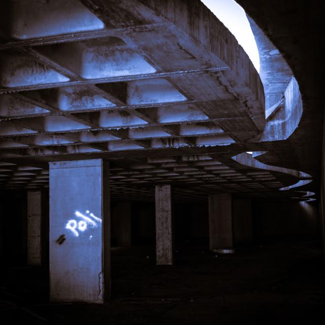 """""""Abandoned construction"""" stock image"""