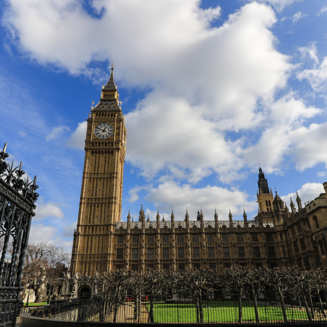"""House of Parliament and the Big Ben"" stock image"