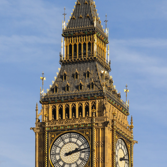 """Close up of the Big Ben"" stock image"
