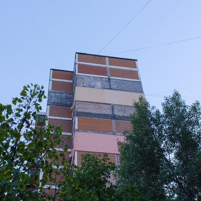 """""""Urban Sky"""" stock image"""